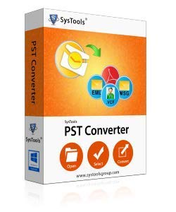 SysTools PST-Konverter (E-Mail-Lieferung-Keine CD)
