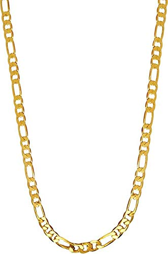 Freshme Fashion Jewellery 24K Gold Plated Chain For Men