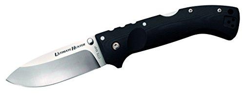 Cold Steel 307013 Klappmesser | Klingenlänge: 8,89 cm-Griff: Schwarz l G10-Ultimate Hunter, mehrfarbig -