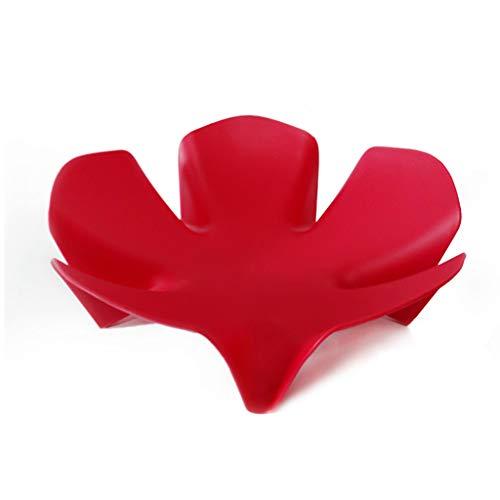ZHAOSHUNLI Corbeilles à Fruits Assiette de Fruits Seau de Fruits Creative Flower Fruit Storage Drain Basket Fashion Fashion Plastic (Couleur : Red) Pdf - ePub - Audiolivre Telecharger