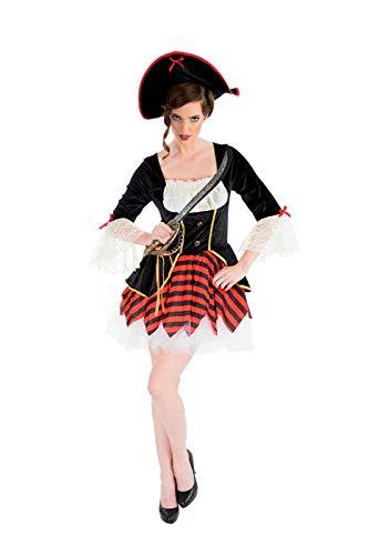 Déguisement pirate femme luxe--34/36 (Femme Pirate Kostüm)
