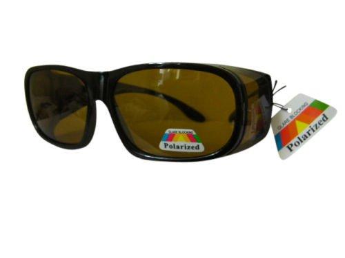 Polarisiert über verschreibungspflichtige Sonnenbrillen fahren Low Sun Gelb Objektiv polarisierten 40