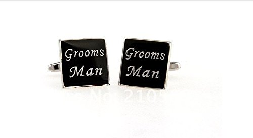 Memyseli Special Grooms Man Cufflinks In A Gift And Presentation Box