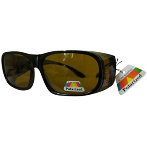 Polarizzati prescrizione Occhiali da sole guida basso sole giallo con lenti polarizzate 40Mondo Eye Wear