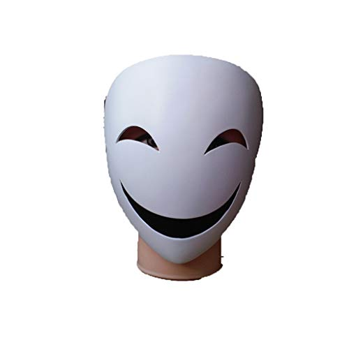Schatten Clown Halloween Maske, Horror Haunted House Bar Tanz Coplay Harz Maske Clown Haunted House