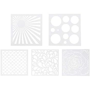 /Stencil Home Deco-d/éco Classiche Artemio/ 30,5/x 0,2/x 35/cm Plastica Nero