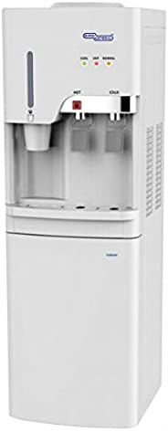 Super General Hot & Cold Taps Free Standing Water Dispenser, White - SGL
