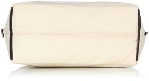 Jost - Borsa a secchiello, in tela, da mare, Moscato (Marrone) - 1967-707 nero