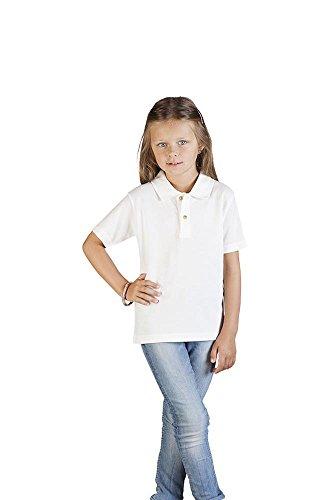 Premium Poloshirt Kinder Weiß