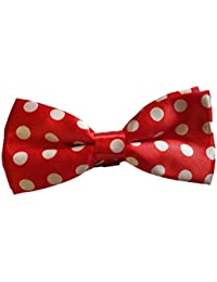 Fat-catz-copy-catz Mens Unisex Pre-Tied adjustable Musical notes dickie bow tie satin polyester