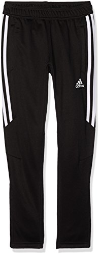 adidas Kinder Tiro17 Pants Trainingshose, Black White, 116 (Pants Training Tiro Adidas)