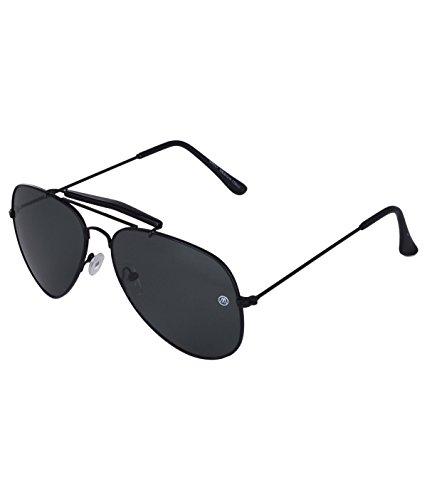 Markques Volvo Aviator Unisex Sunglasses(Vl-550101|60|Black)