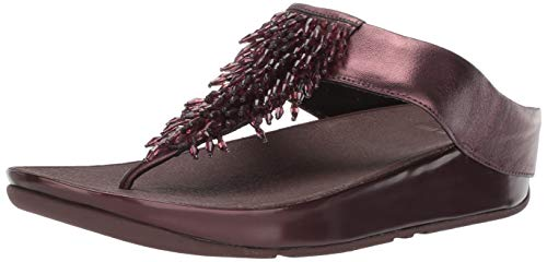 45510bf3ddcc Fitflop Women s Rumba Toe-Thong Sandals T-Bar
