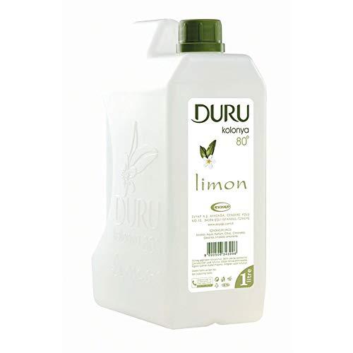 Duru Duru kolonya zitrone 1 liter türkisches duftwasser im mini-kanister