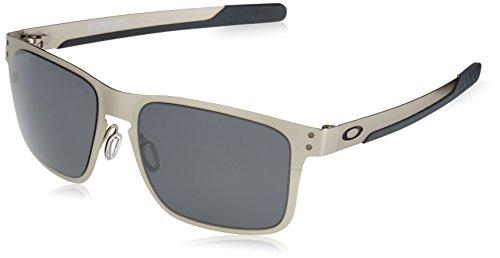 Oakley Herren Holbrook Metal Sonnenbrille, Silber (Plateado), 55
