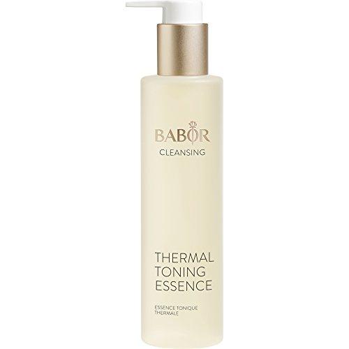BABOR CLEANSING Thermal Toning Essence, Gesichtswasser für empfindliche Haut, feuchtigkeitsspendende Gesichtspflege mit Aloe Vera, alkoholfrei, 1 x 200 ml -