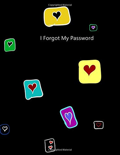 I Forgot My Password: Large Logbook To Protect Your Passwords, Internet Password Organizer, Protect Notebook, Password Book, Stores 1000 Passwords ! -