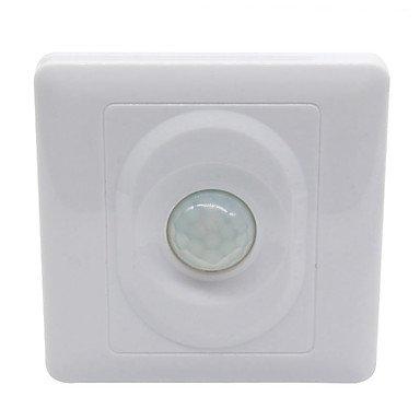 Switches sensor de movimiento IR control automático panel de interruptores de luz...