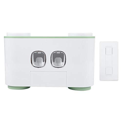 Dispensador de pasta de dientes - Exprimidor automático a prueba de polvo Dispensador de crema dental...