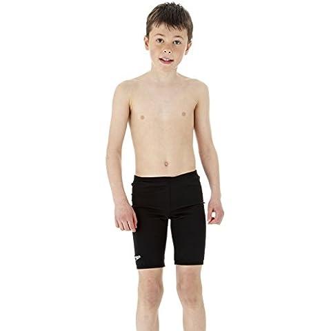 Speedo Endurance Plus - Boxer de natación para niño negro negro Talla:30 Inch