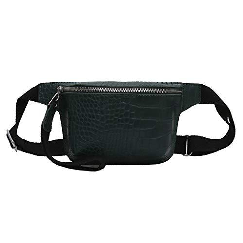 Damen Trachten Ledertaschen Mode Brusttasche Bauchtasche Schultertasche mit Reißverschluss Schalter Sport Gürteltasche Hüfttasche Citytasche Dirndl Clutch