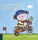Laura monta en bicicleta (Nacho y Laura)