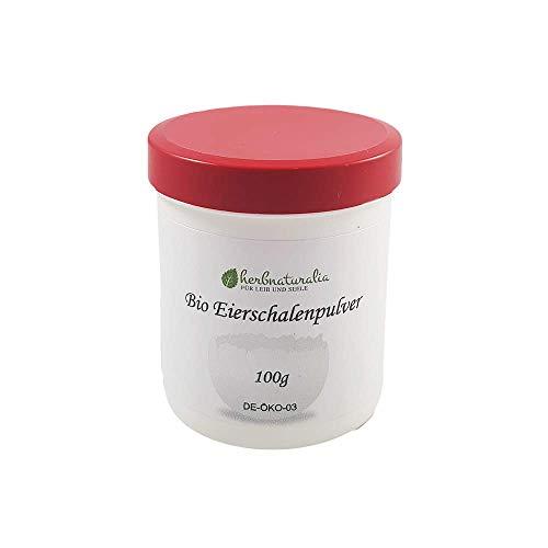 herbnaturalia ® - Bio Eierschalenpulver 100g