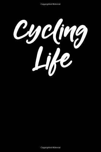 Cycling Life: Blank Lined Journal College Rule Script por Sportslo Notebooks