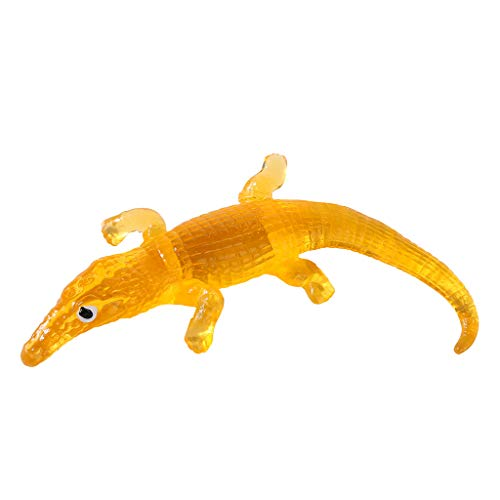 SimpleLife Stretchy Sticky Toys, lebensechtes Alligator-Halloween-Kinderspielzeug für Streich-Spiel-Witz-Neuheits-Geschenk (Gut, Kid Witze Für Halloween)