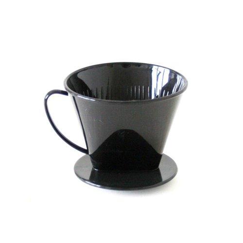 AXENTIA Kaffeefilter, Kaffeedauerfilter, Kaffeebereiter, Permanentfilter aus Kunststoff, für 2...