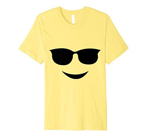 Sonnenbrillen Emoji Smiley Lustige Weihnachts Geschenk Shirt -