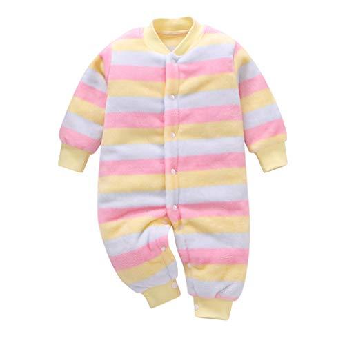 LEXUPE Neugeborenes Baby Mädchen Warm Hoodie T-Shirt Top + Hose Outfits Set Kleidung Set(Hellblau,59)