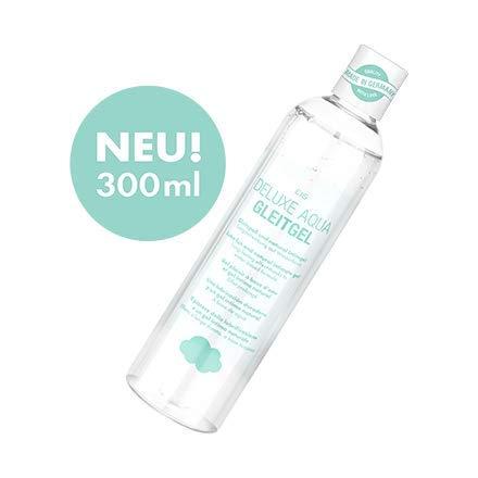 EIS, Lubricante y gel íntimo Deluxe Aqua, efecto larga duración acuoso, 300ml