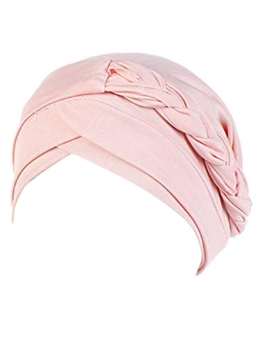 TEBAISE Strickmützen Baumwollmütze für Chemo Cancer Damen Frauen Muslimische Hüte Muslim Kopftuch Indische Turban-Hüte Indien Mütze Wrap Cap für Haarausfall Krebs Haarverlust 2019 Sommer Neu (Billig Australischen Kostüm-online-shops)