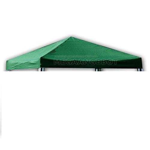 CTZ Carpa–Techo de repuesto. 3x 3metros resistente al agua verde Gazebo techo de 3x 3m