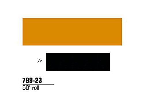 3M Scotchlite Reflective Striping Tape, Gold, 1/2-Inch by 50-Foot by 3M 3m Scotchlite Reflective Material