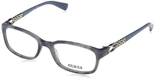 Guess Damen Brille Gu2558 092 51 Brillengestelle, Blau,