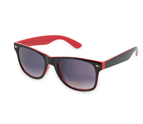 Damen Herren Lesebrille Sonnenbrille +1.5 +2.0 +3.0 +4.0 Sun Readers Perfekt für den Urlaub Retro Vintage Brille MFAZ Morefaz Ltd (+2.00, Red Black)