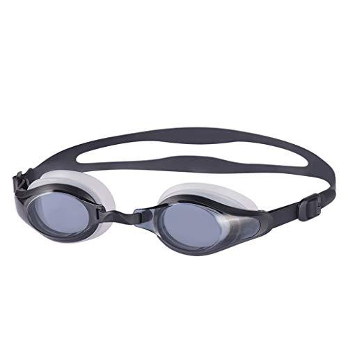TLTLYYJ Myopie-Schutzbrillen, Schutzbrillen Neuer Großer Rahmen Bequeme Schwimmen-Schutzbrillen Schwimmen-Schutzbrillen Der Männer Und Der Frauen HD Antifog Und Wasserdicht