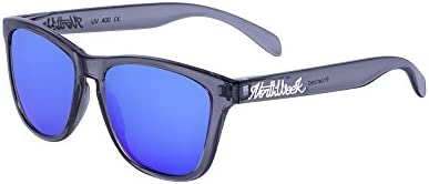 Northweek Regular Bright Grey - Blue Polarized - Gafas de sol unisex, gris