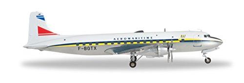 Herpa - 556606 - Uat - A Partir de Transporte de la Unión Aéromaritime Douglas DC-6B