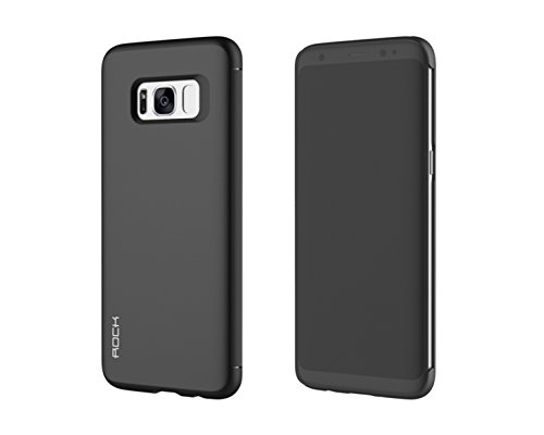 Sanchar's ROCK Dr.v series Flip Case for Samsung S8 invisible window slip to answer case cover for s8 - Black  available at amazon for Rs.1499