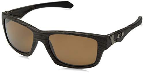 Ray-Ban Herren 0OO9135 Sonnenbrille, Schwarz (Woodgrain), 56