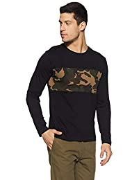 People Men's Plain Regular Fit T-Shirt