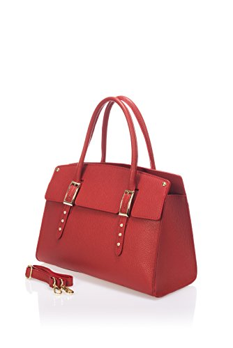 laura-moretti-bolso-de-piel-con-tachuelas-rojas-estilo-satchels