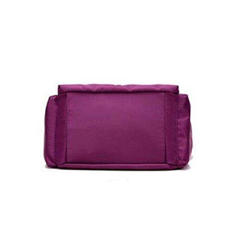 Wasserdichte Nylon Tuch Kurier Tasche Weiblichen Schultertasche Mode Tasche Black