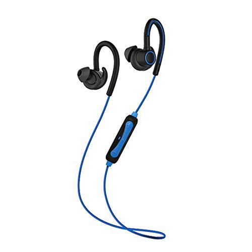 PTron Sportster Wireless Bluetooth Headset (Blue, Black, in Ear)