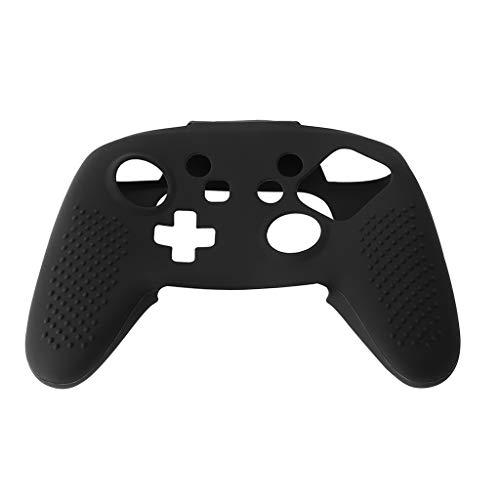 Amarzk Silikon Hülle für Displayschutzfolie Anti-Rutsch-Spielzubehör für Nintendo Switch Pro Controller