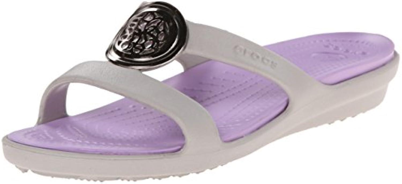 crocs Women's Sanrah Circle Sandal 2018 Letztes Modell  Mode Schuhe Billig Online-Verkauf