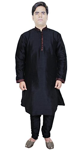 camicia da uomo pigiama abiti del vestito da modo kurta etnica indiana dimensioni m